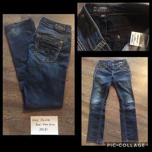 Silver Suki High Slim Jeans